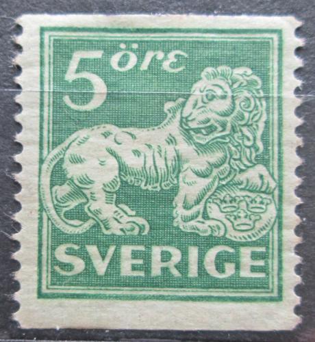 Poštovní známka Švédsko 1920 Lev Mi# 126 AW Kat 20€