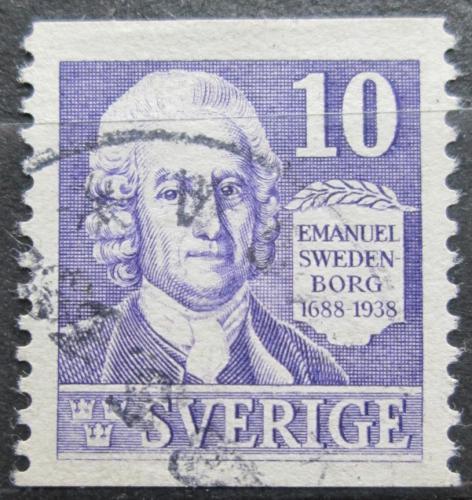 Poštovní známka Švédsko 1938 Emanuel Swedenborg Mi# 243 A