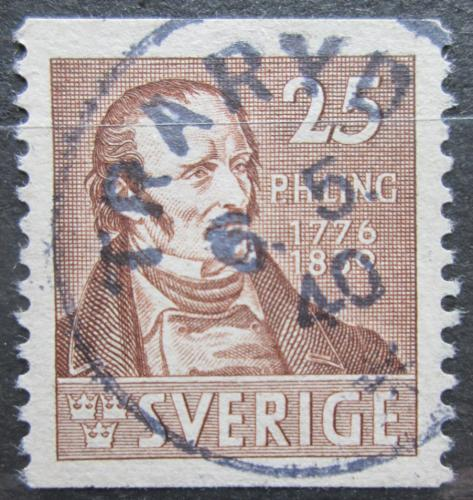 Poštovní známka Švédsko 1939 Per Henrik Ling Mi# 254 A