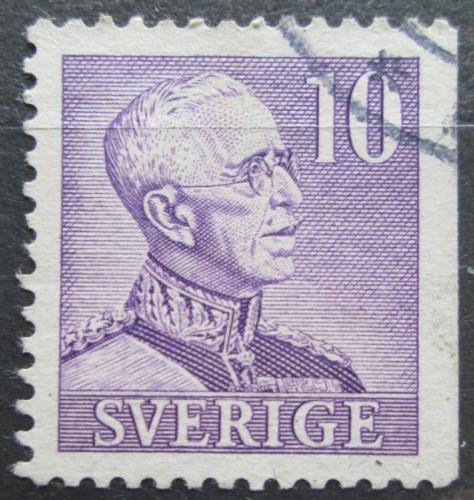 Poštovní známka Švédsko 1939 Král Gustav V. Mi# 256 IIDr