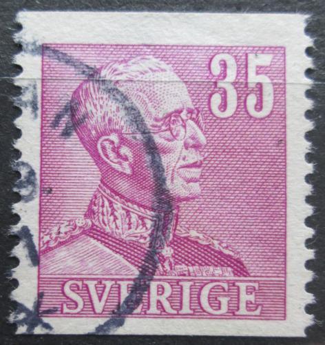 Poštovní známka Švédsko 1941 Král Gustav V. Mi# 261 A