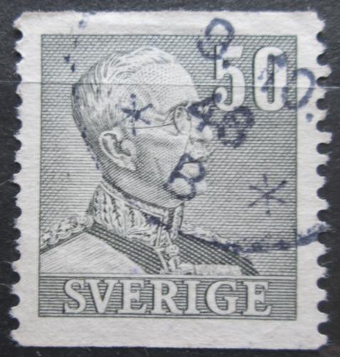 Poštovní známka Švédsko 1941 Král Gustav V. Mi# 264 A