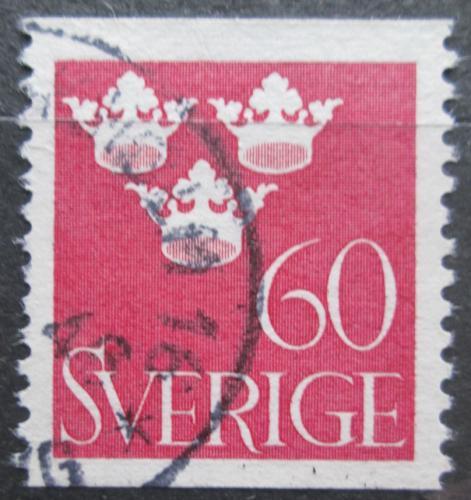 Poštovní známka Švédsko 1939 Státní znak Mi# 265 A