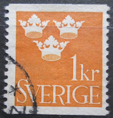 Poštovní známka Švédsko 1939 Státní znak Mi# 268 A