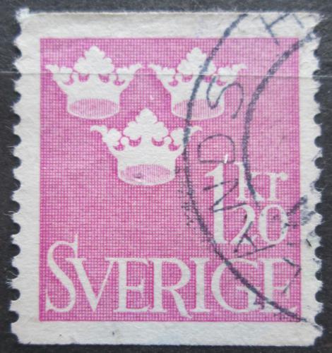 Poštovní známka Švédsko 1939 Státní znak Mi# 270 A