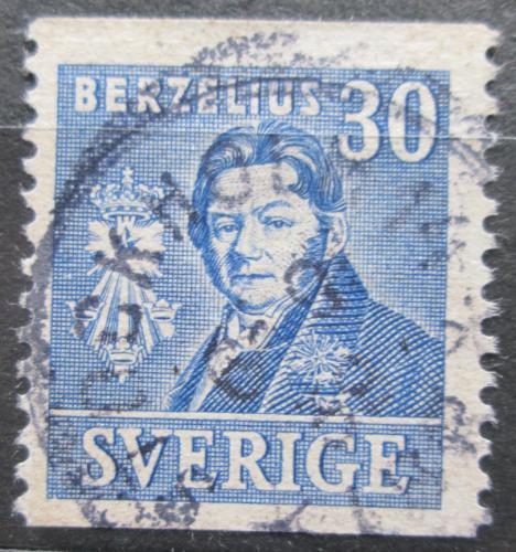 Poštovní známka Švédsko 1939 Dr. Berzelius Mi# 274 A