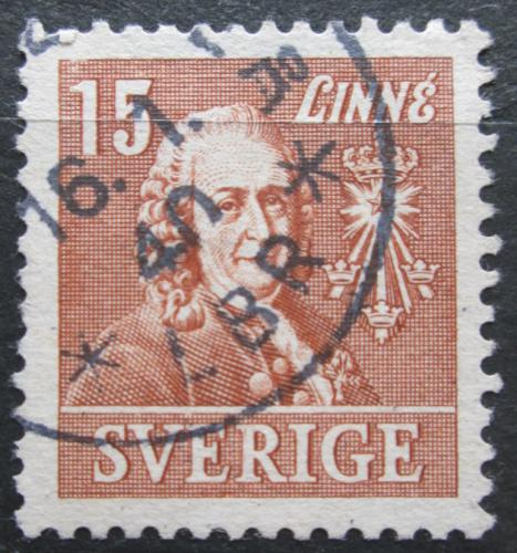 Poštovní známka Švédsko 1939 Dr. Carl von Linné Mi# 273 B