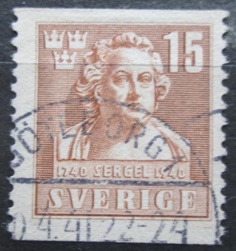Poštovní známka Švédsko 1940 Johan Tobias Sergel, sochaø Mi# 279 A