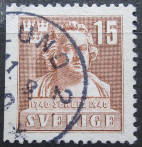 Poštovní známka Švédsko 1940 Johan Tobias Sergel, sochaø Mi# 279 Dl