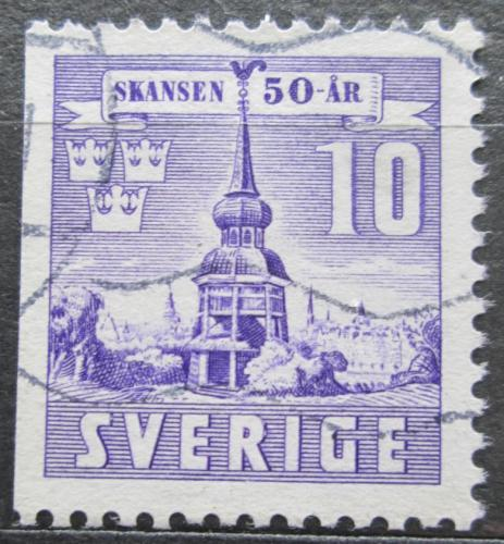 Poštovní známka Švédsko 1941 Zvonice Mi# 283 Dl