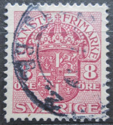 Poštovní známka Švédsko 1918 Státní znak, úøední Mi# 36 Kat 22€