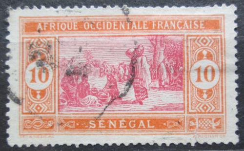 Poštovní známka Senegal 1914 Tržnice Mi# 57