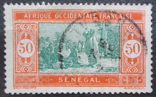 Poštovní známka Senegal 1926 Tržnice Mi# 82