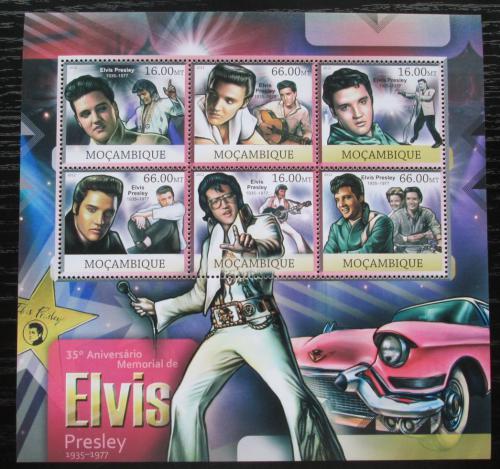 Poštovní známky Mosambik 2012 Elvis Presley Mi# 5972-77 Kat 14€