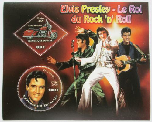 Poštovní známky Mali 2009 Elvis Presley Mi# N/N