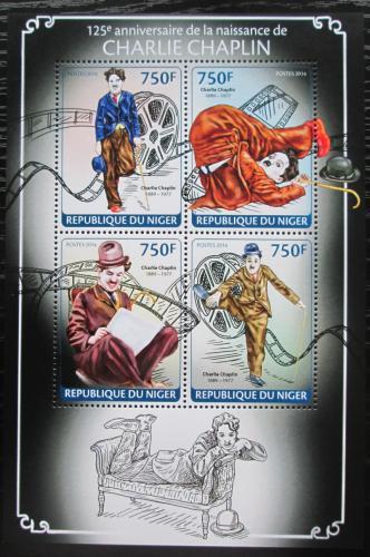 Poštovní známky Niger 2014 Charlie Chaplin Mi# 2682-85 Kat 12€