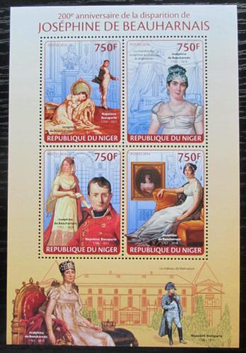 Poštovní známky Niger 2014 Joséphine de Beauharnais Mi# 2677-80 Kat 12€