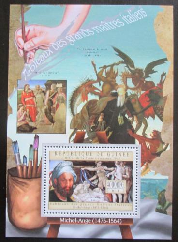 Poštovní známka Guinea 2012 Umìní, Michelangelo Buonarroti Mi# Block 2151 Kat 16€