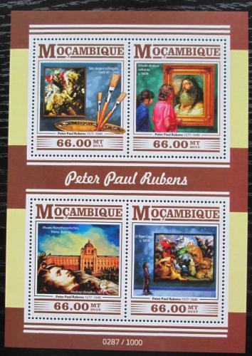Poštovní známky Mosambik 2015 Umìní, Peter Paul Rubens Mi# 8189-92 Kat 15€