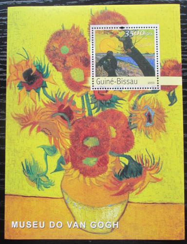 Poštovní známka Guinea-Bissau 2003 Umìní, Vincent van Gogh Mi# Block 450 Kat 14€