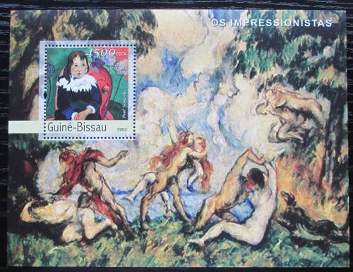 Poštovní známka Guinea-Bissau 2003 Umìní, Paul Gauguin Mi# Block 416 Kat 12€