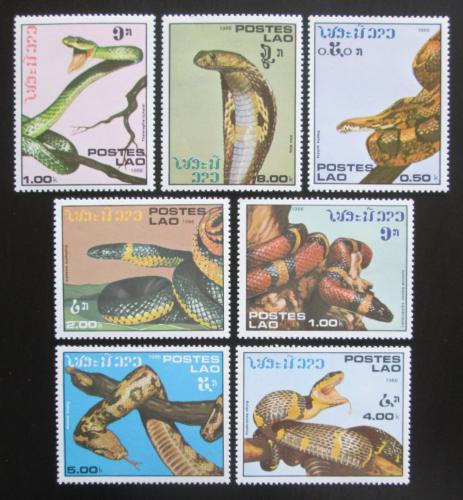 Poštovní známky Laos 1986 Hadi Mi# 929-35 Kat 7€