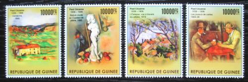 Poštovní známky Guinea 2015 Umìní, Paul Cézanne Mi# 11303-06 Kat 16€