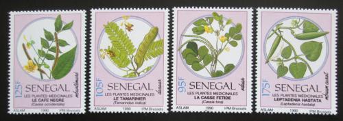 Poštovní známky Senegal 1990 Léèivé rostliny Mi# 1103-06 Kat 6€
