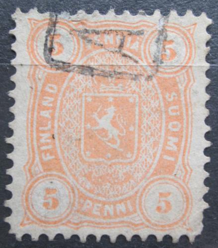 Poštovní známka Finsko 1881 Státní znak Mi# 13 B yb Kat 7.50€