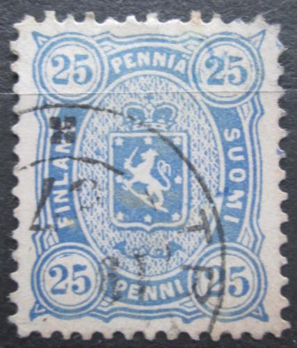Poštovní známka Finsko 1885 Státní znak Mi# 23