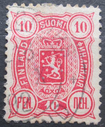Poštovní známka Finsko 1890 Státní znak Mi# 29 Ba