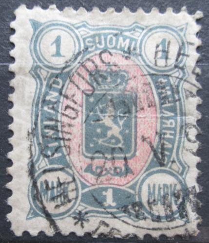 Poštovní známka Finsko 1890 Státní znak Mi# 32 Ab