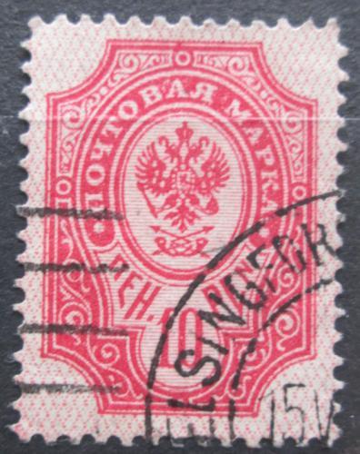 Poštovní známka Finsko 1901 Státní znak Mi# 57