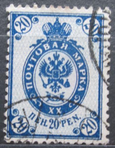 Poštovní známka Finsko 1901 Státní znak Mi# 58