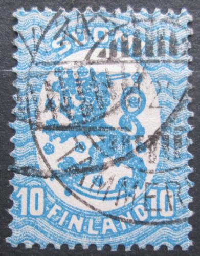 Poštovní známka Finsko 1921 Státní znak Mi# 72 Aa