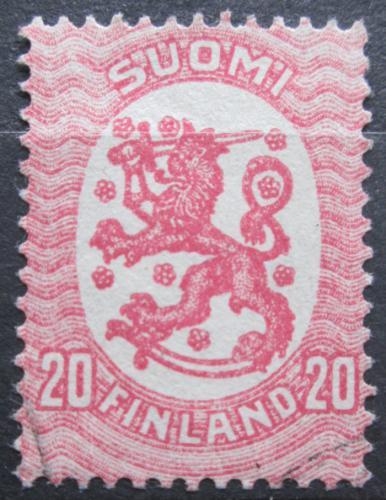Poštovní známka Finsko 1920 Státní znak Mi# 74 A