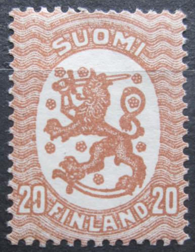 Poštovní známka Finsko 1924 Státní znak Mi# 75 A