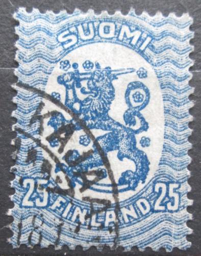 Poštovní známka Finsko 1917 Státní znak Mi# 76 A