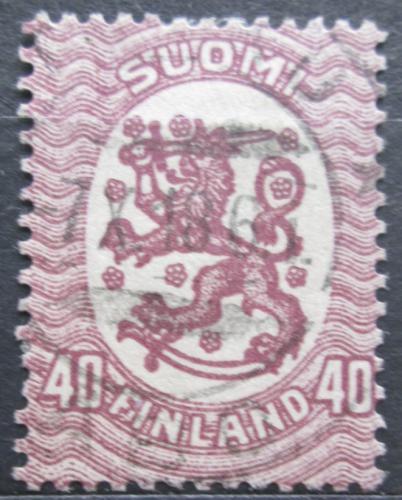 Poštovní známka Finsko 1917 Státní znak Mi# 79 A