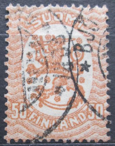 Poštovní známka Finsko 1917 Státní znak Mi# 81 A