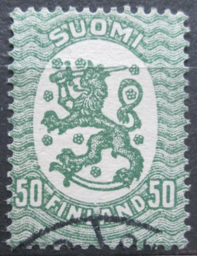 Poštovní známka Finsko 1921 Státní znak Mi# 83 A