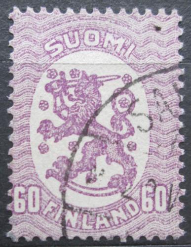 Poštovní známka Finsko 1921 Státní znak Mi# 84 Aa