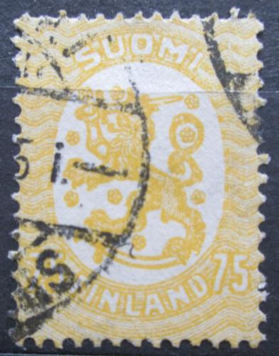 Poštovní známka Finsko 1921 Státní znak Mi# 85 A