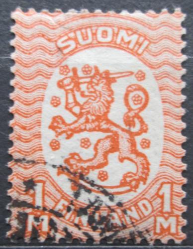 Poštovní známka Finsko 1925 Státní znak Mi# 87 Aa Kat 17€
