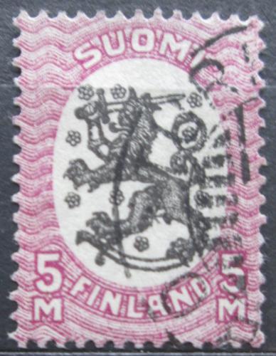 Poštovní známka Finsko 1917 Státní znak Mi# 92 A