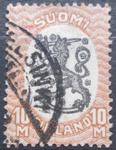 Poštovní známka Finsko 1917 Státní znak Mi# 93 A