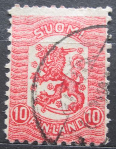 Poštovní známka Finsko 1918 Státní znak Mi# 96