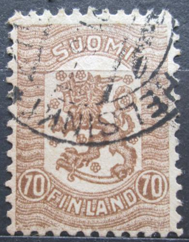Poštovní známka Finsko 1918 Státní znak Mi# 100 Kat 10€