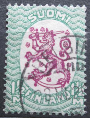 Poštovní známka Finsko 1926 Státní znak Mi# 120