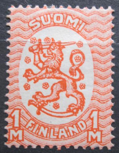 Poštovní známka Finsko 1925 Státní znak Mi# 119 Kat 11€